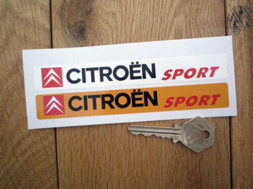 CITROEN SPORT Number Plate Dealer Logo Cover Stickers Saxo GTI Xsara AX C2 C3 DS