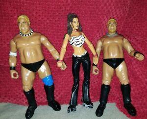 WWE-WWF-Rikishi-x-3-Jakks-Pacific-Titan-Tron-Live-Wrestling-Figure-2000-Rare