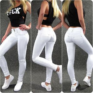 Hailys Stretch Jeans Camila White Xs S M L XL XXL Ladies Sexy Skinny Women's