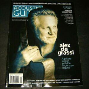 Acoustic Guitar July/August 2020 Alex De Grassi