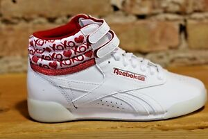 Reebok-shoes-for-Kids-039-Freestyle-Hi-Sweetheart-Shoes-New