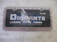 Valor Auto Accessories License Plate Frame (diamante)