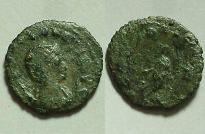 Rare Genuine Ancient Roman coin Antoninianus/Salonina, Gallienus, Venus, Cupid