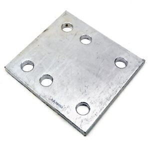 Tow-Bar-Ball-Drop-Plate-6-Hole-Space-Height-Adjuster-TR137
