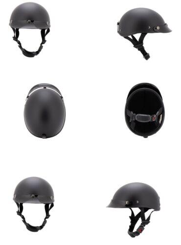 Jet Helm Braincap L kleinster Helm schwarz Matt