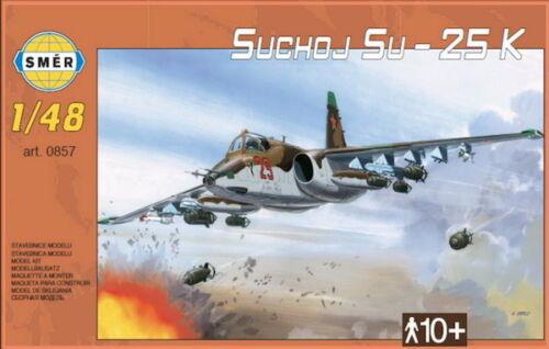 UKRAINIAN, SOVIET, IRAQI, CZECH /& SLOVAK MKGS SUKHOI Su-25 FROGFOOT A 1//48 SMER