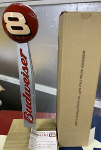 Budweiser-Beer-Tap-Keg-Handle-Dale-Earnhart-8-Shifter-RARE-NEW-Old-Stock-In-Box