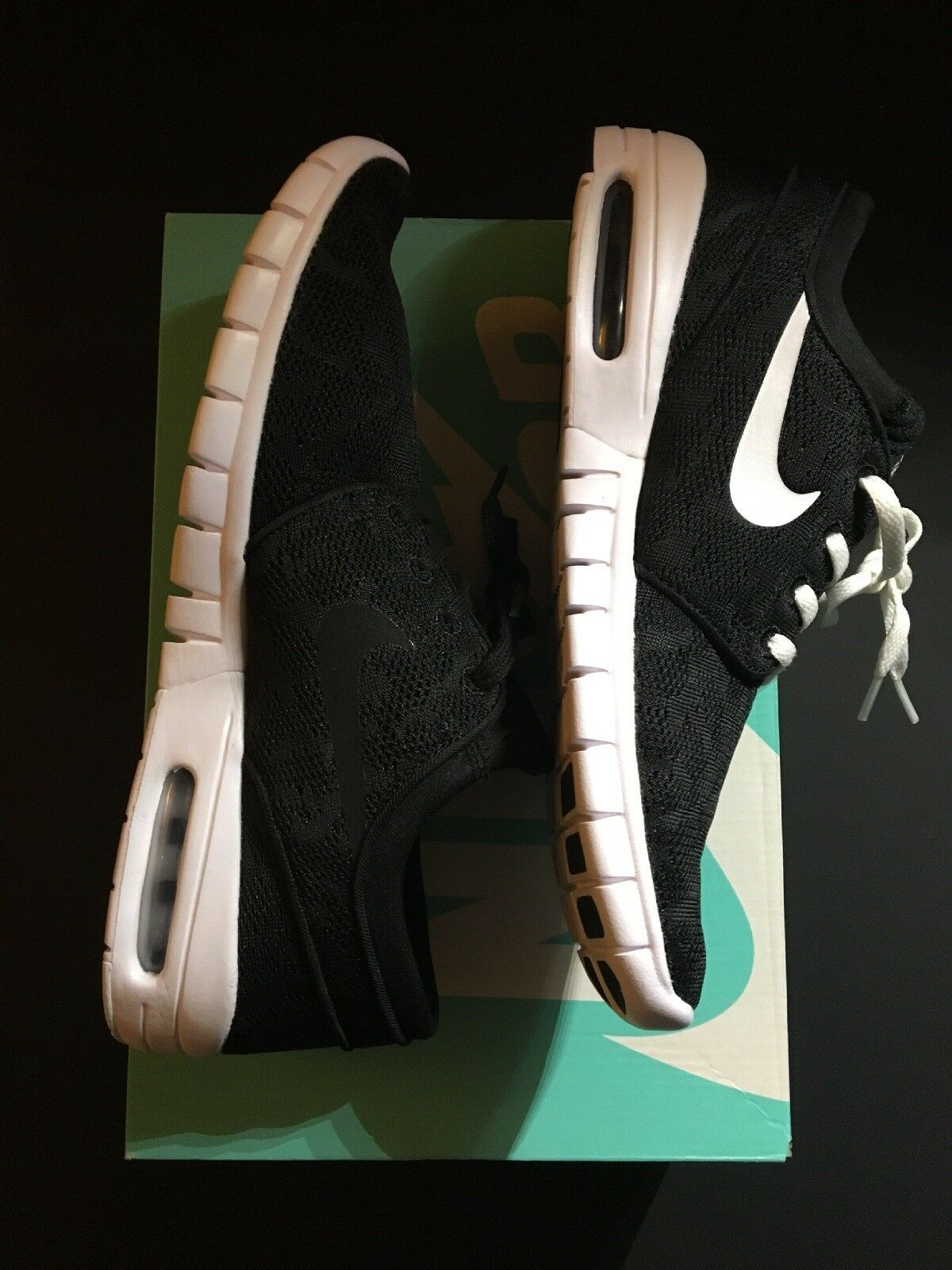 Nike SB Stefan Janoski Max Men's shoes Black White 9 Two Styles