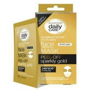 5-x-Sachets-Sparkly-Gold-Peel-Off-Face-Mask-Hydrolyzed-Collagen-amp-Q10