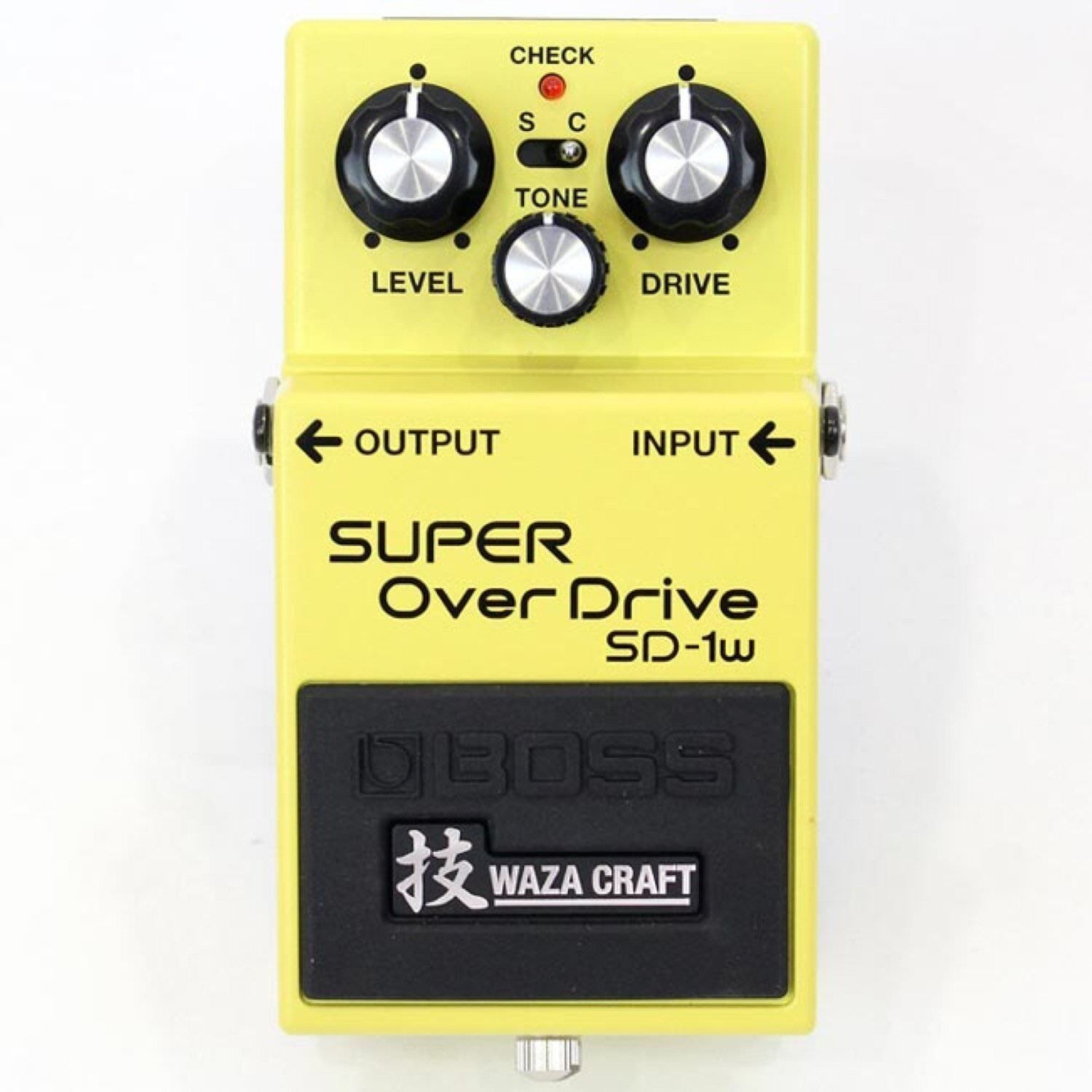 BOSS SD-1W(J) Waza Craft Series Super Overdrive Guitar Effect Made in Japan