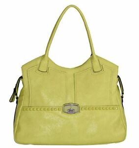 Image Is Loading Guess Wil Carryall Bag Lemon Handbag Vg393422 S1a