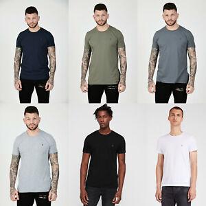 Allsaints-Tonico-de-cuello-redondo-para-hombre-Disenador-Moda-Camiseta-Camiseta-Algodon-Todos-los