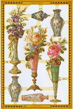 Chromo Le Suh Vase de Fleurs A154 Flowers