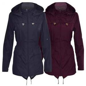 RAIN MAC Womens Lightweight Showerpoof FESTIVAL Jacket PARKA Plain ...