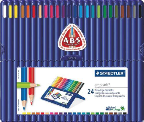 Lata de 36 Staedtler ergosoft Lápices de ColoresTodos los tamaños de envase disponiblesInc