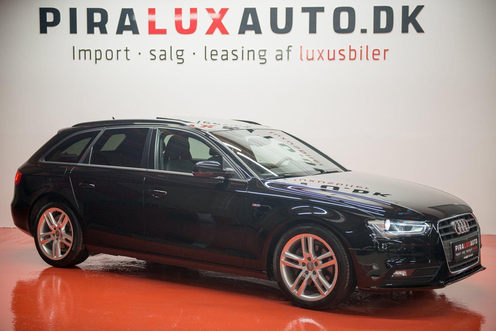 Audi A4 3,0 TDi 204 S-line Avant Multitr. 5d - 378.400 kr.