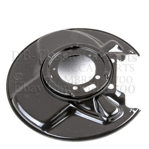 Mercedes abdeckbleche acanaladas rueda trasera freno w107 w114 w115 DERECHO /& IZQUIERDO
