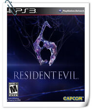 PS3 RESIDENT EVIL 6 RE6 SONY PlayStation Capcom Action Adventure Games