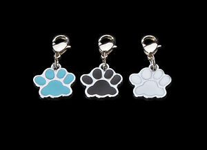 Dog Paw Clip On Bag / Bracelet Charm's