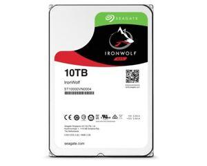 10TB Seagate IronWolf, intern, 8,89 cm (3,5 Zoll) (ST10000VN0004) HDD sATA3