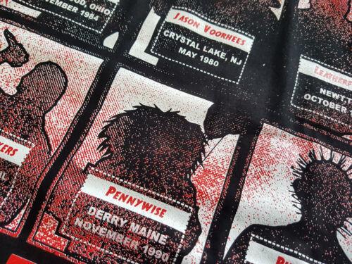Killer Crew Ringer T-Shirt Kult,Movie,Horror,Voorhees,Jason,13th,Blood,Freddy