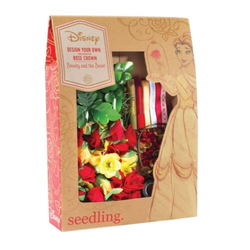 NEW Disney's Beauty and The Beast Design Your Own Enchanted Flower Rose Kit