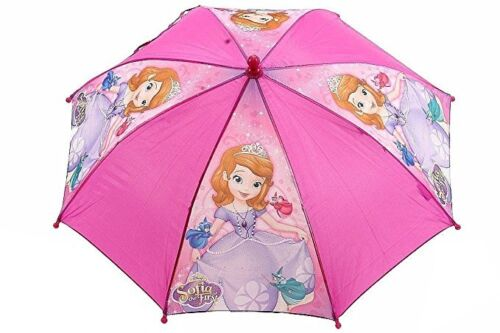 """Licensed Disney Ready To Be A Princess Sofia the First Girls 21/"""" Umbrella Handle"""