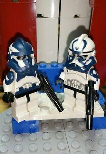 Lego Star Wars Custom Commander Wolffe with Phase 2 Armor