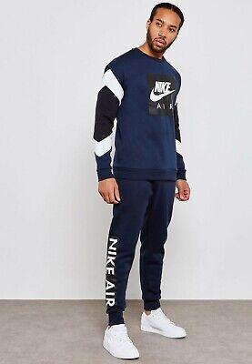 Nike Men's NIKE AIR Fleece Jogger Pants 928637-451 Loose Fit; Size XXL