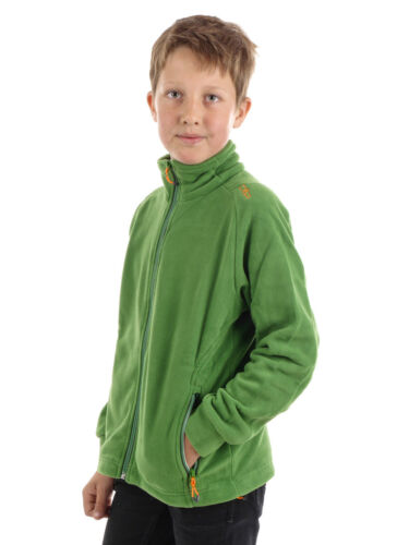 CMP Fleecejacke Jacke BOY JACKET grün atmungsaktiv thermoregulierend