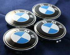 BMW WHEEL CENTRE CAPS 68MM STANDARD SIZE FIT E46 CARS BEST VALUE TOP SELLER