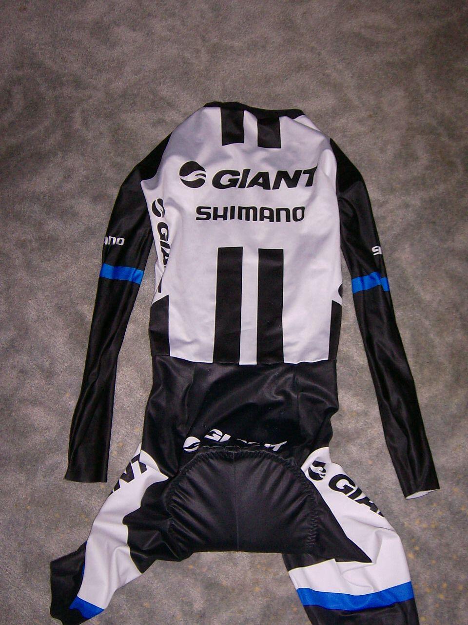 Rarität Etxeondo Team Giant Shimano Aero Zeitfahranzug Skinsuit / Skinsuit Zeitfahranzug 2aa7bf