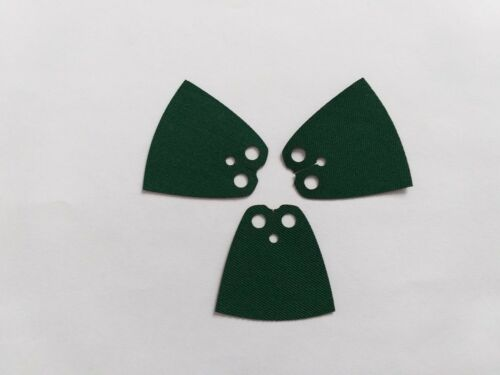 3X Grün Lego Umhang dunkelgrün 4 cm Zubehör Umhänge Mantel Cape Harry Potter
