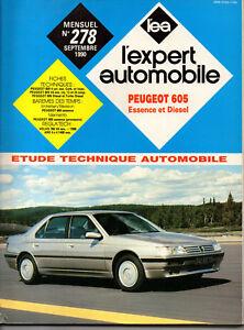 SincèRe Rta Revue Technique L'expert Automobile N° 278 Peugeot 605 4 Cyl Essence Diesel Une Large SéLection De Couleurs Et De Dessins