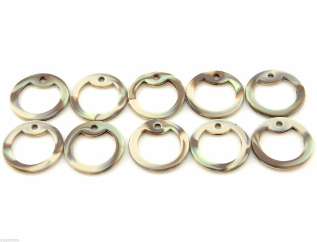 10 Pack Military Tags Silencers Lot of 10 Clear Rubber Dog Tag Silencer Set