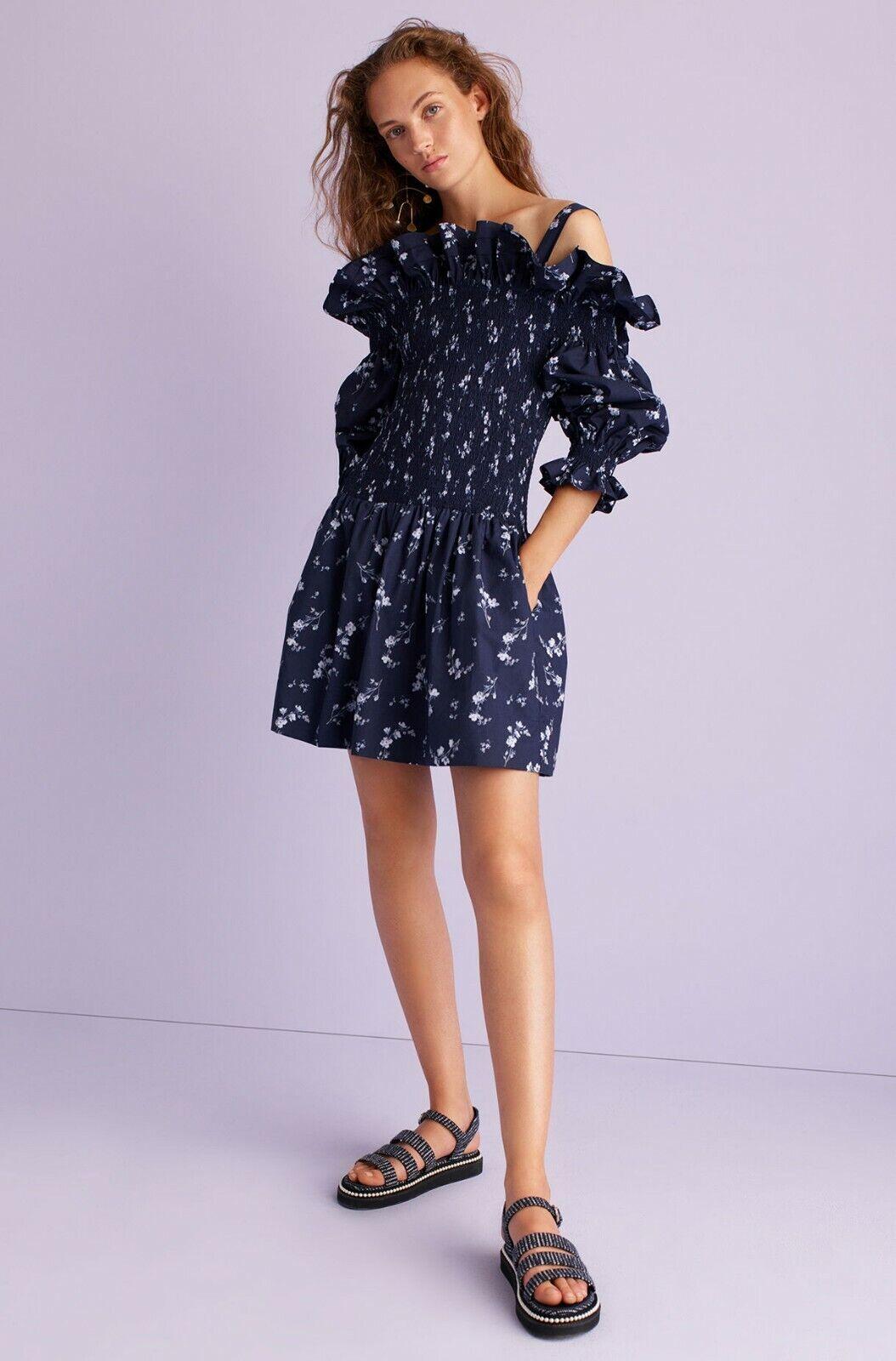 New without tags  Rebecca Taylor Francine Off Shoulder Dress 6