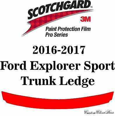 3M Scotchgard Paint Protection Film Pro Series Pre-Cut 2016 2017 Ford Explorer