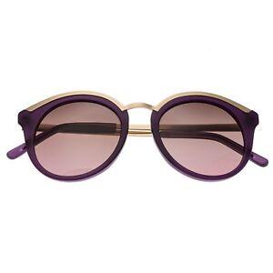 5482e53f07c Bertha Caroline Rose Gold Polarized Purple Women s Sunglasses BR015P ...