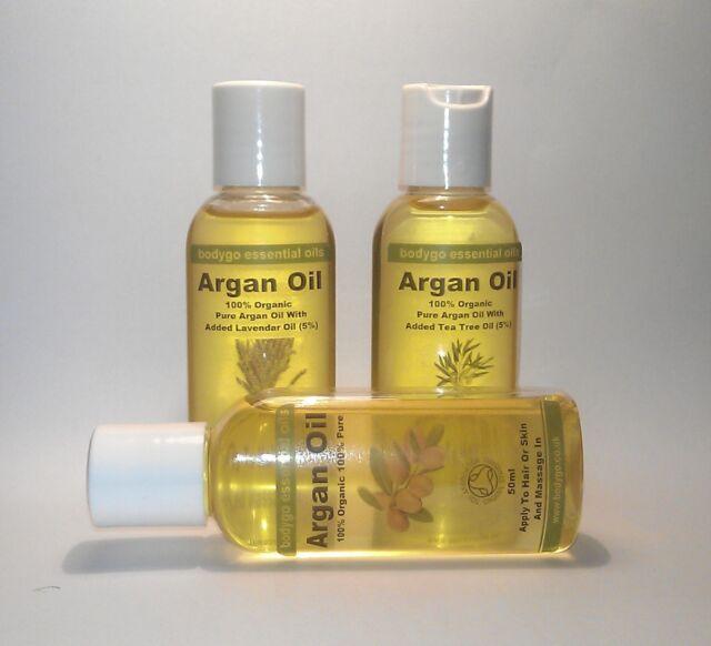 100% Organic Moroccan ARGAN OIL for Skin, Body & Hair  50ml