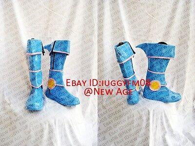Yu-Gi-Oh! Dark Magician Girl Cosplay Shoes Boots #C134