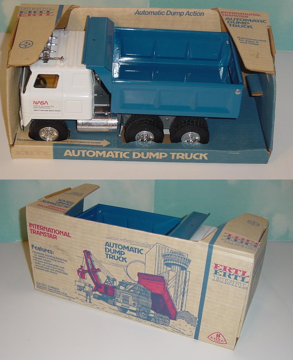 Disfruta de un 50% de descuento. Vintage Vintage Vintage Ertl internacional de Transtar NASA hidráulico camión con caja (11)  Todo en alta calidad y bajo precio.
