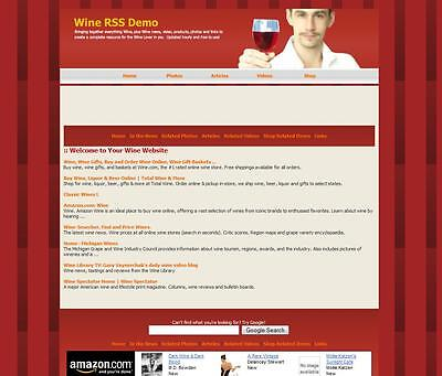 Make BIG Money With Amazon WINE STORE Google Adsense Affiliate Website