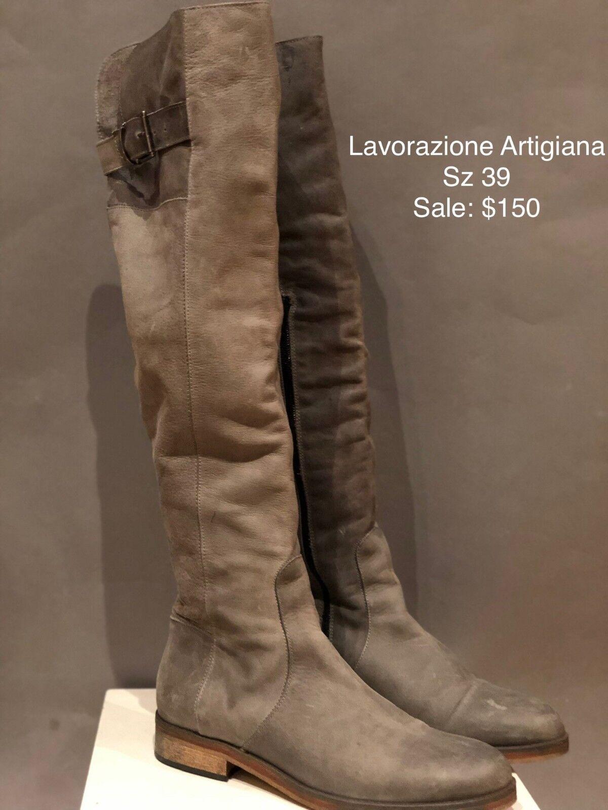 Lavorazione Lavorazione Lavorazione Artigiana botas Altas-tamaño 39  barato y de alta calidad