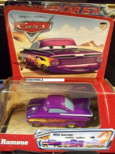 DISNEY PIXAR CARS 2005 RAMONE PULLBAX PURPLE H6435-1