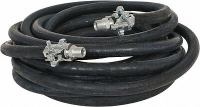 """601020-25 1//2/"""" x 25ft 300 psi Air//Water Hose with 1//2/"""" M-NPT"""
