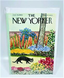 LOT OF 4 The New Yorker - June 18,1960 - By William Steig - Greeting Card