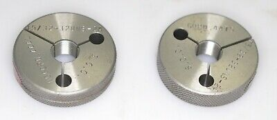 7//16-20 UNF SPECIAL ~ Thread Ring Gage ~  Go Not-Go ~ .437-20 Ingram Pre-Plate