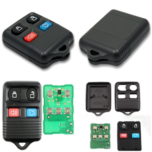 2pcs Remote Keyless Key Fob 4 Button  Keyless Entry Remote Fit For FORD MERCURY
