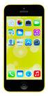 Apple iPhone 5c - 32GB - Yellow (Unlocked) A1456 (CDMA + GSM)