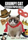 Grumpy Cat Sticker Paper Dolls by Grumpy Grumpy Cat (2015, Book, Other)